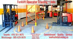 Forklift Training Toronto - WORK SAFE